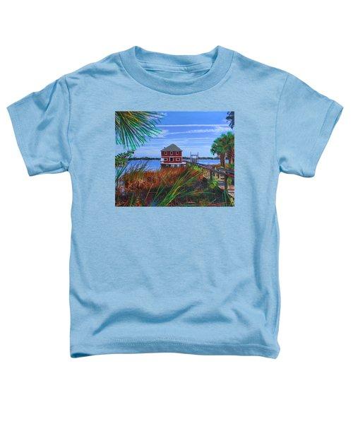 Historic Ormond Boathouse Toddler T-Shirt