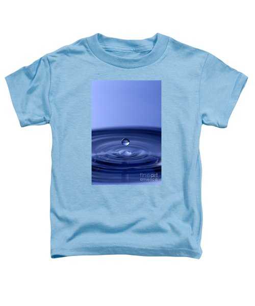 Hovering Blue Water Drop Toddler T-Shirt