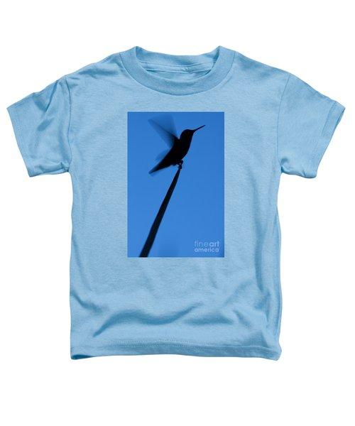 Hummingbird Silhouette Toddler T-Shirt
