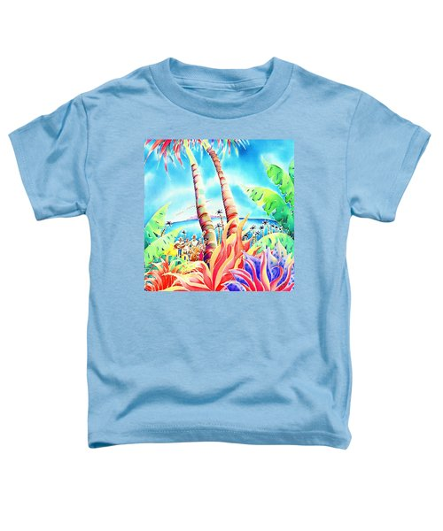 Island Of Music Toddler T-Shirt