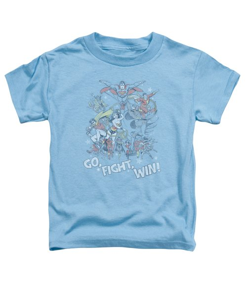 Jla - Go Fight Win Toddler T-Shirt