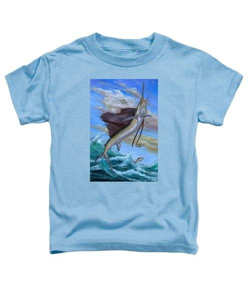Jumping Sailfish Toddler T-Shirt