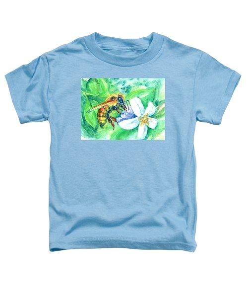 Key Lime Honeybee Toddler T-Shirt
