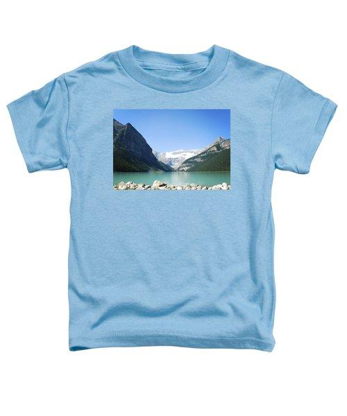Lake Louise Alberta Canada Toddler T-Shirt