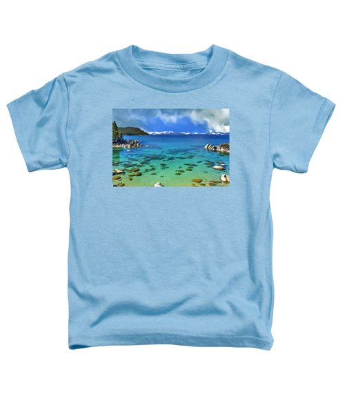 Lake Tahoe Cove Toddler T-Shirt