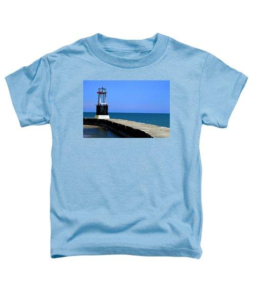 Lakefront Pier Tower Toddler T-Shirt