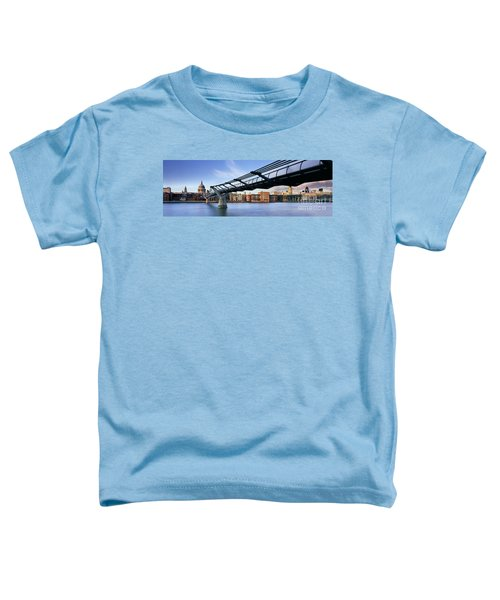 Millennium Bridge London 1 Toddler T-Shirt by Rod McLean