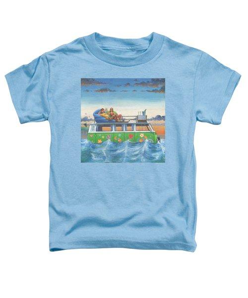 Love And Peace At Sea Toddler T-Shirt