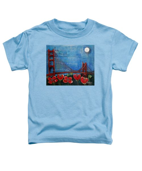Love For San Francisco Toddler T-Shirt