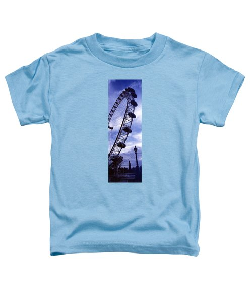 Low Angle View Of The London Eye, Big Toddler T-Shirt by Panoramic Images