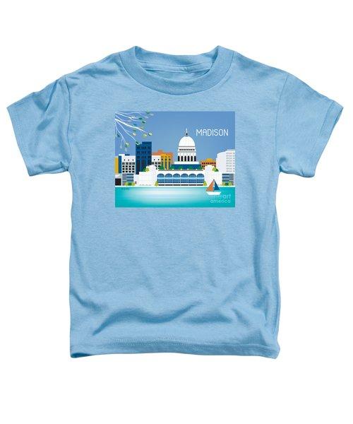 Madison Toddler T-Shirt by Karen Young