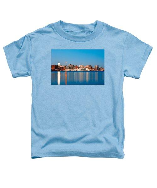 Madison Skyline Toddler T-Shirt