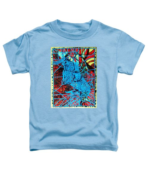 Maiden In Blue - Mary In The Temple Toddler T-Shirt
