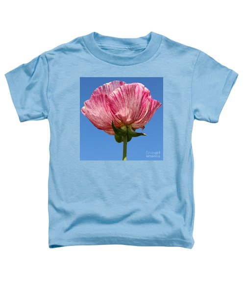 Marbled Mable Ranunculus Flower By Diana Sainz Toddler T-Shirt