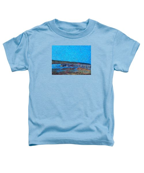 Market Wharf St. Andrews Nb Toddler T-Shirt