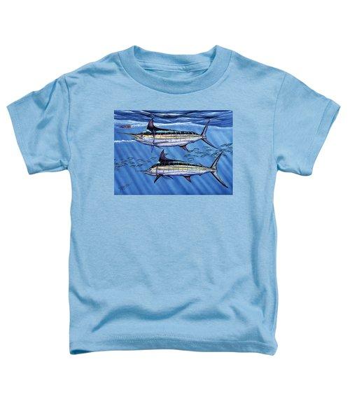Marlins Twins Toddler T-Shirt