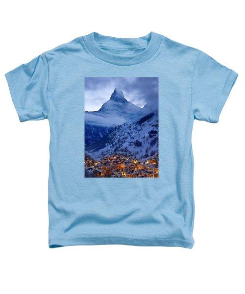 Matterhorn At Twilight Toddler T-Shirt