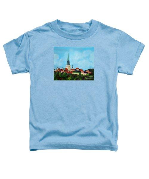 Medieval Tallinn Toddler T-Shirt