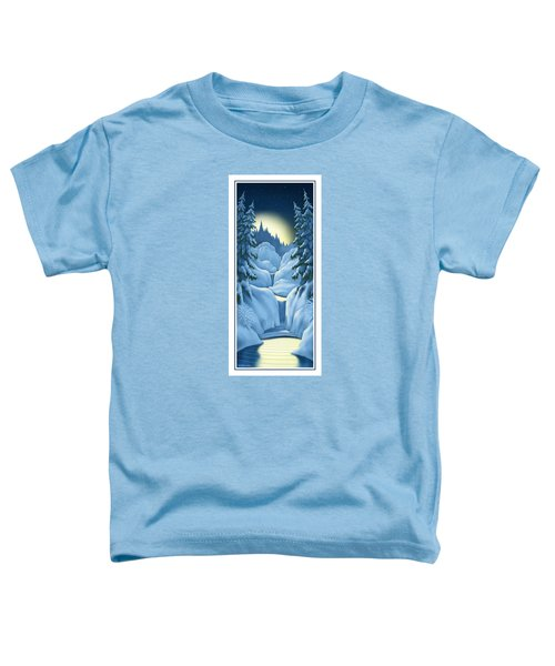Midnight Sun Toddler T-Shirt