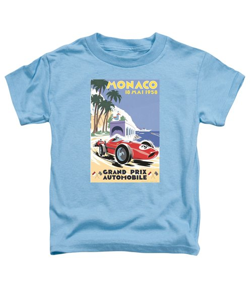 Monaco Grand Prix 1958 Toddler T-Shirt