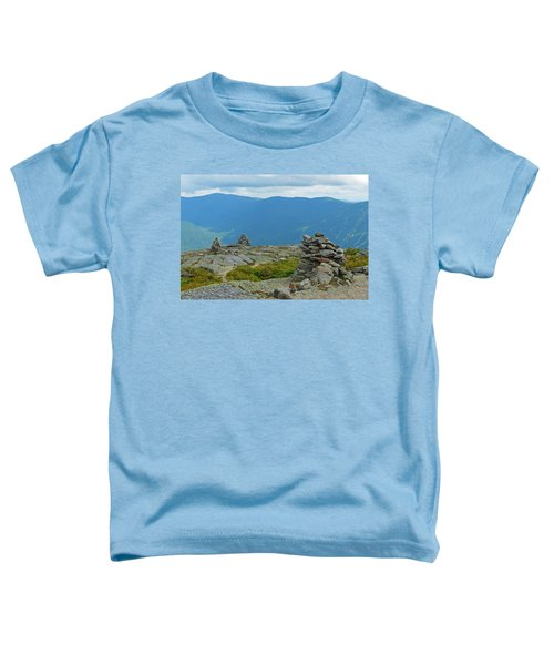 Mount Washington Rock Cairns Toddler T-Shirt