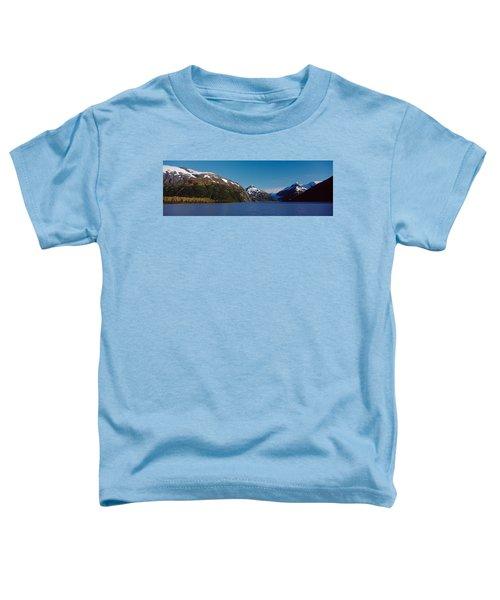 Mountains At The Seaside, Chugach Toddler T-Shirt