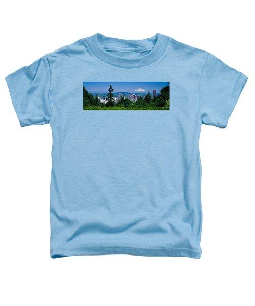 Mt Hood Portland Oregon Usa Toddler T-Shirt