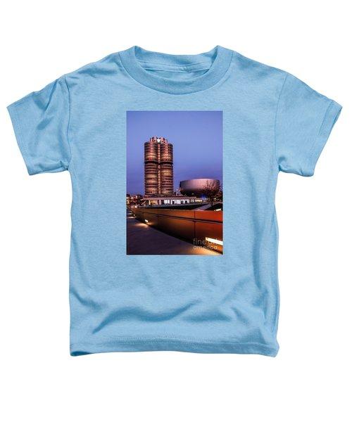 munich - BMW office - vintage Toddler T-Shirt