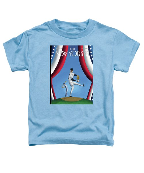 New Yorker April 2nd, 2001 Toddler T-Shirt