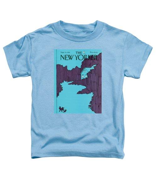 New Yorker September 21st, 1981 Toddler T-Shirt