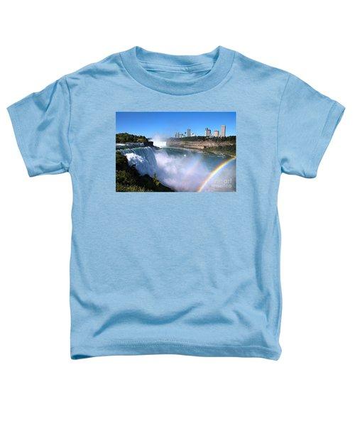Niagara Falls Double Rainbow Toddler T-Shirt