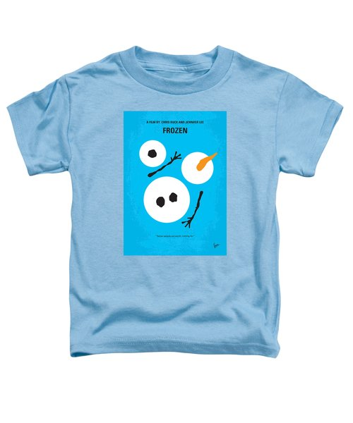 No396 My Frozen Minimal Movie Poster Toddler T-Shirt