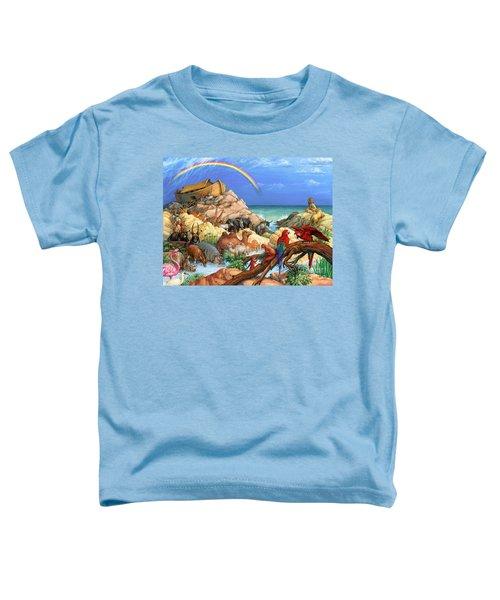 Noah And The Ark Toddler T-Shirt