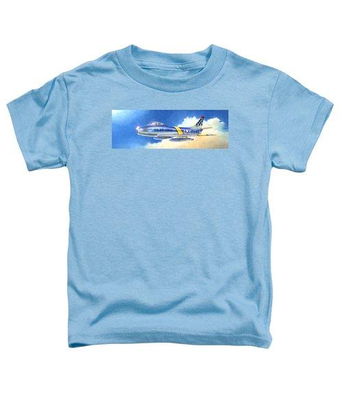 North American F-86f Sabre Toddler T-Shirt