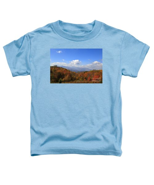 North Carolina Mountains In The Fall Toddler T-Shirt