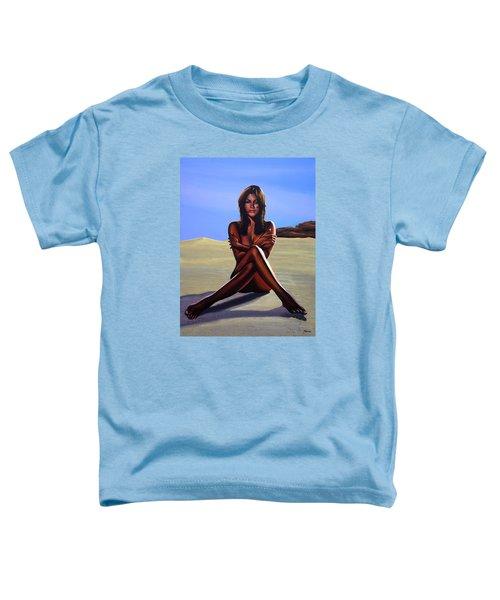 Nude Beach Beauty Toddler T-Shirt