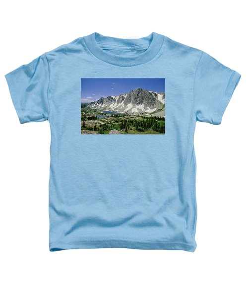 M-09702-old Main Peak, Wy Toddler T-Shirt