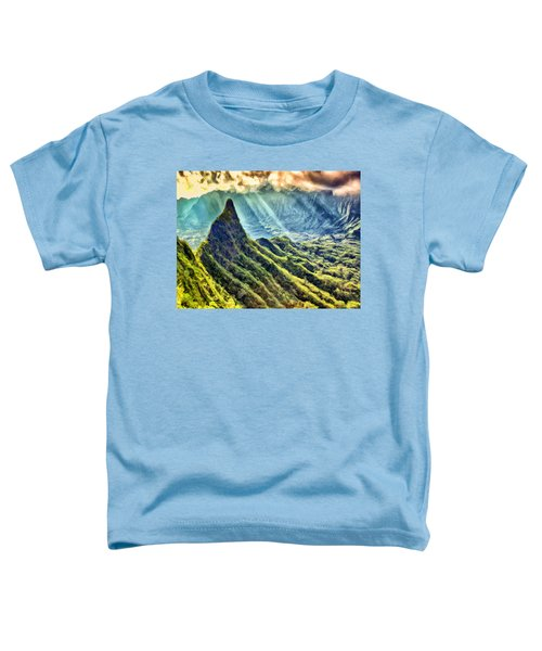 Olomana And The Koolau Range Toddler T-Shirt