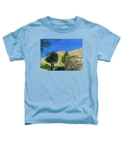 Outside The Wall - Jerusalem Toddler T-Shirt