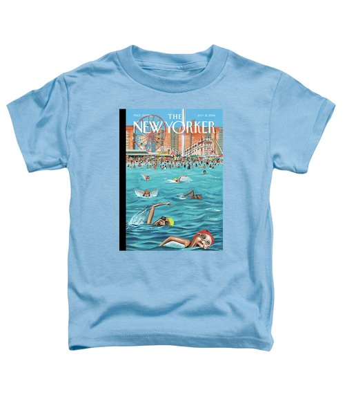 Coney Island Toddler T-Shirt