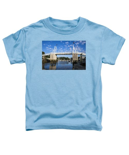 Perkins Cove - Maine Toddler T-Shirt