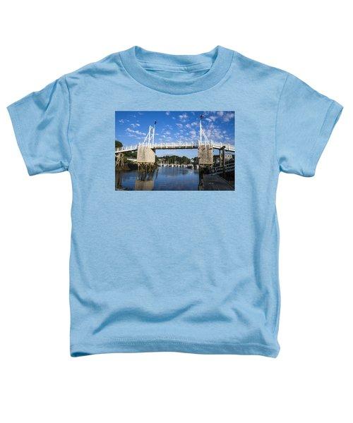 Perkins Cove - Maine Toddler T-Shirt