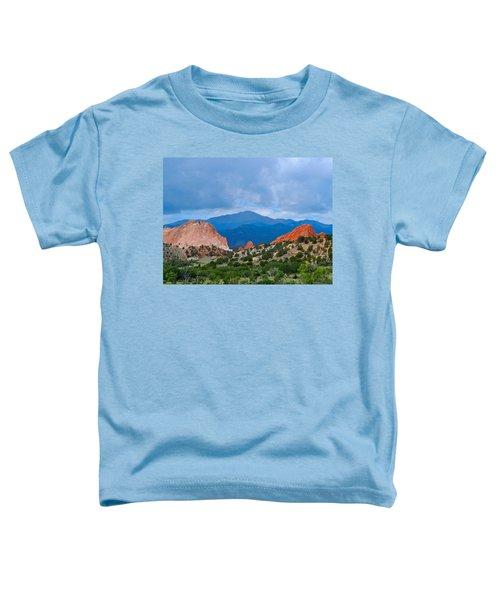 Pikes Peak Toddler T-Shirt