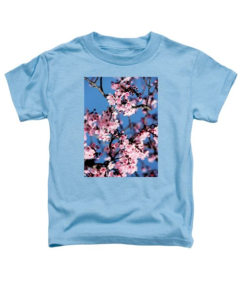 Pink Blossoms On The Tree Toddler T-Shirt