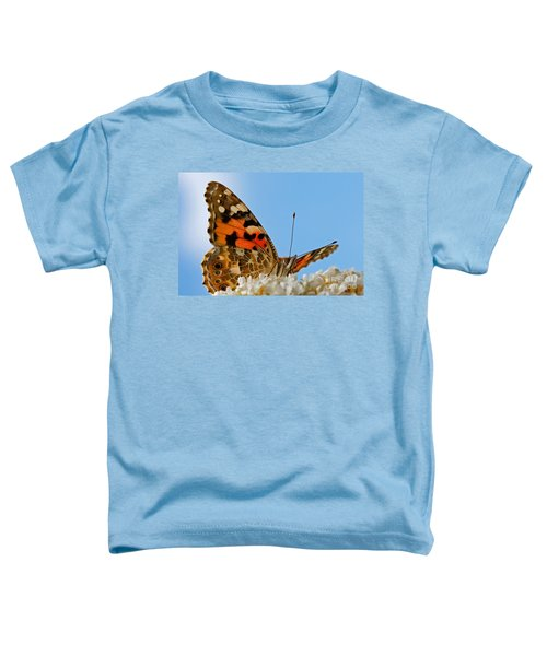 Portrait Of A Butterfly Toddler T-Shirt