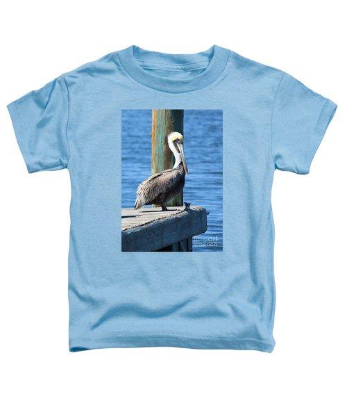 Posing Pelican Toddler T-Shirt