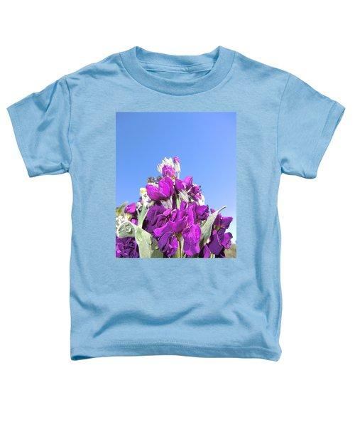 Purple Glow 2 Toddler T-Shirt