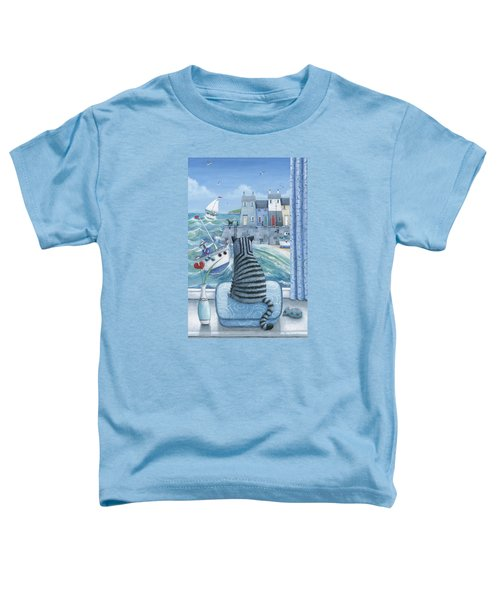 Rather Mew Toddler T-Shirt by Peter Adderley