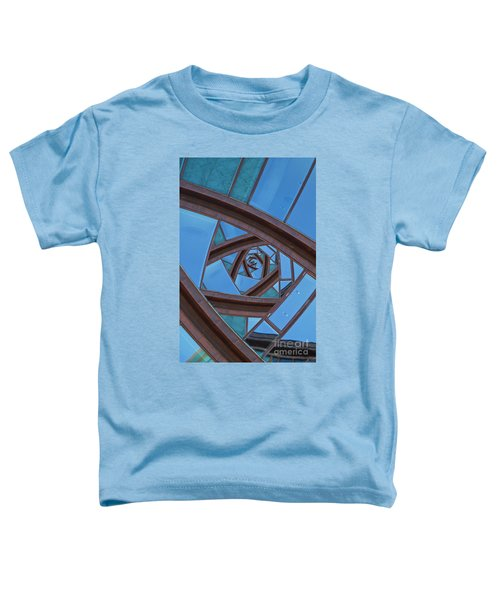 Revolving Blues. Toddler T-Shirt by Clare Bambers
