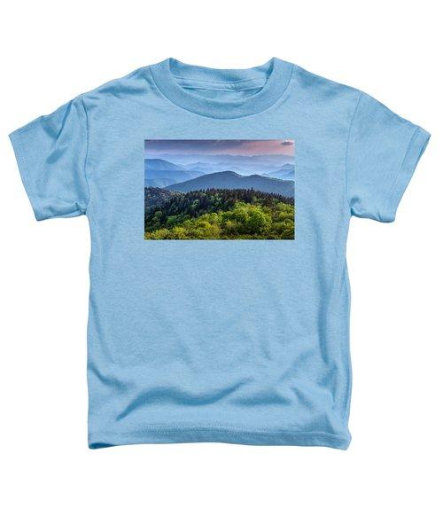 Ridges At Sunset Toddler T-Shirt
